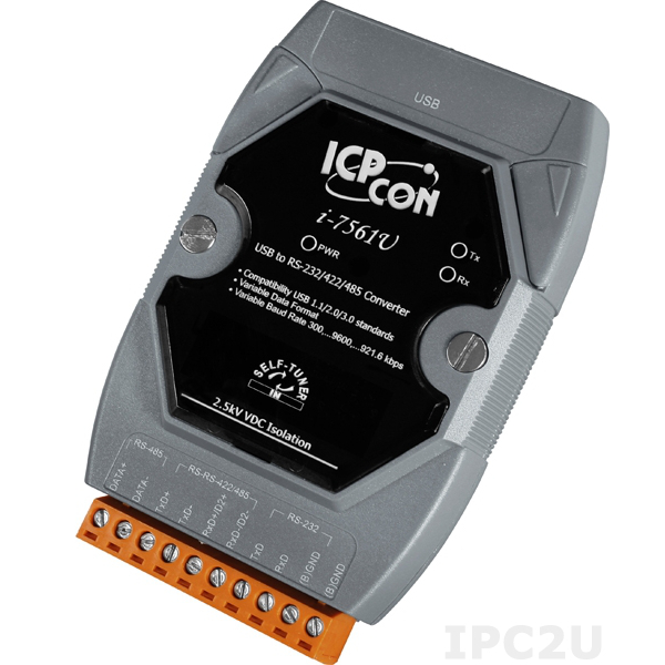 I-7561U USB to RS-232/422/485 Converter