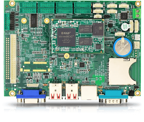 VEX2-6427 CPU board supporting up to 10 COM ports
