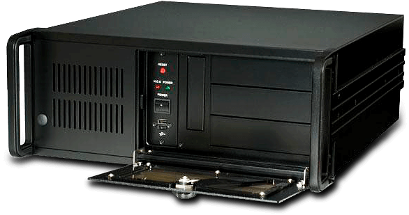 "IPC2U presents the iROBO-40615-37T2 19"" Rackmount IPC with processors from Intel's 8th and 9th generation (Coffee Lake)"