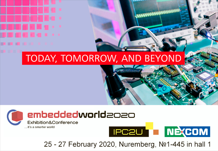Meet IPC2U at the embedded world 2020