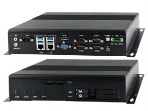 Fanless Embedded Computer with rich variability of I/O ports