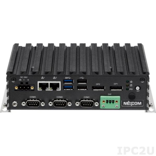 IPC2U presents new compact fanless embedded PC from Nexcom – NISE-108