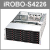 Product of the month April 2011: iROBO-S4226-20 - 4U High End Server for demanding applications!