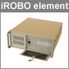 "Product of the month June 2012: iROBO element – cost effective 19"" 4U Industrie Full-PC!"