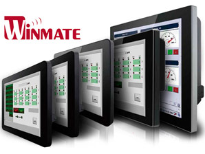 New Industrial Monitors from Winmate with support PoE