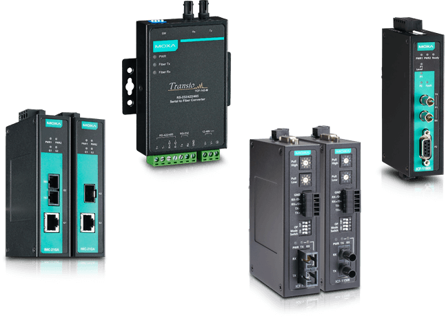 Media converters for network expansion