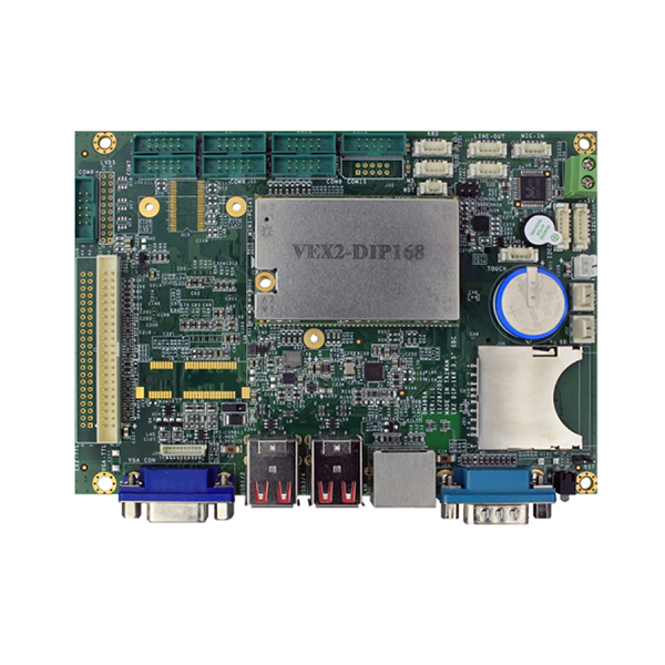 Vortex EX2 Standard: More power, less consumption with VEX2-6454 and VEX2-6427 Industrial Boards