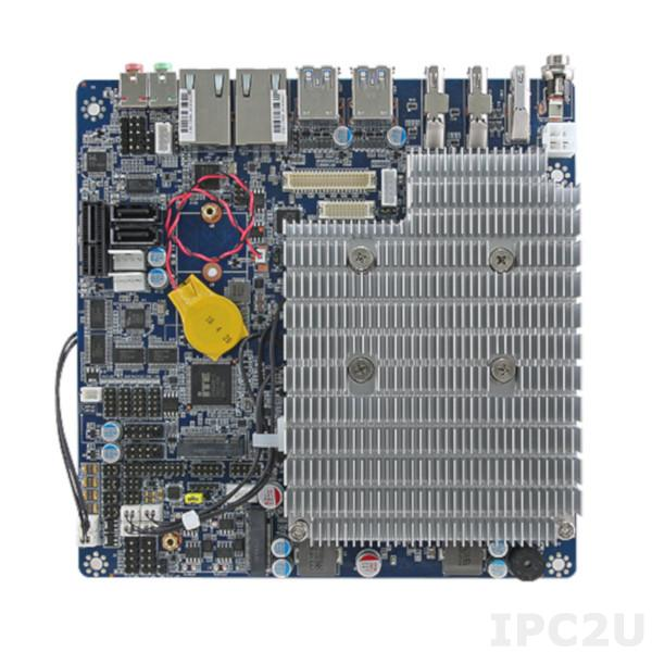 Passively cooled motherboard EMX-KBLU2P-610-A1R in Thin Mini ITX format by Avalue