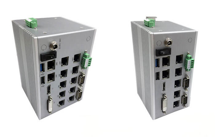 Flexible solution in the form of DIN-Rail mounted Embedded PC