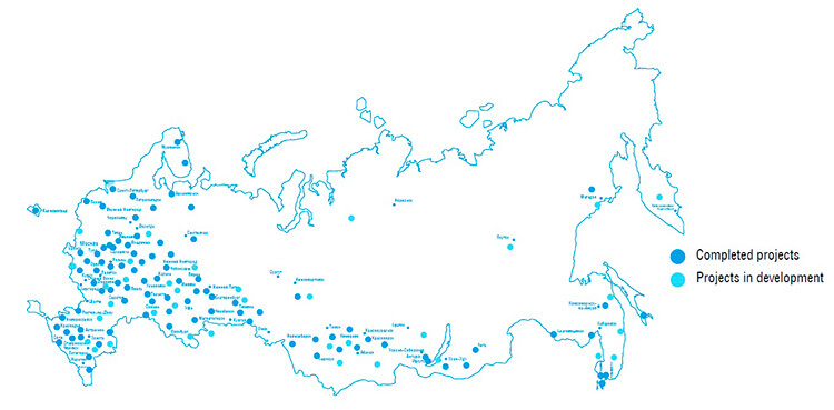Application of STRELKA in Russia